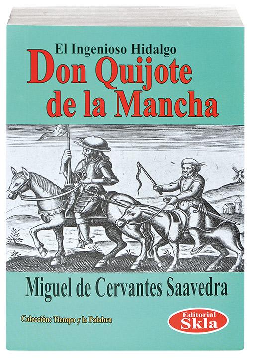 Don Quijote De La Mancha Completo Editorial Skla